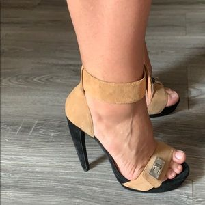 Black and Tan - Jeffery Campbell Heels